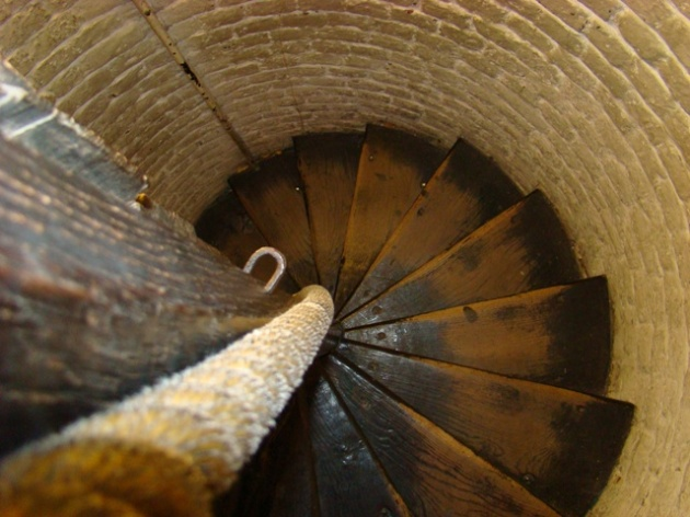 Spiral stairwell entrance-Old Operating Theatre Museum and Herb Garret