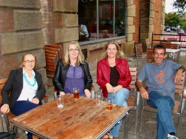 Denzylle, Chris, Shelley, Tony at The Anchor Pub
