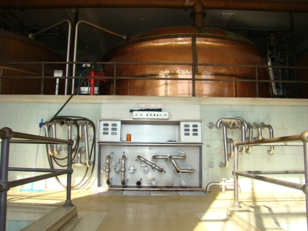 Greene King Brewery tour - Bury St Edmonds, Suffolk