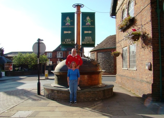 David, Shelley - Greene King Brewery