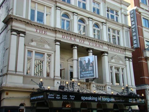 John Simm in 'Speaking in Tongues' at The Duke of York's Theatre