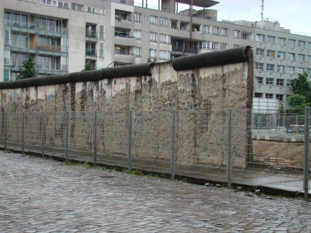 Berlin Wall remains