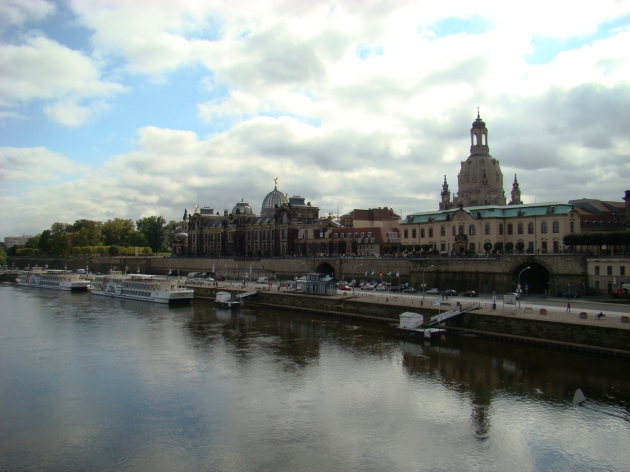 Dresden on the River Elbe