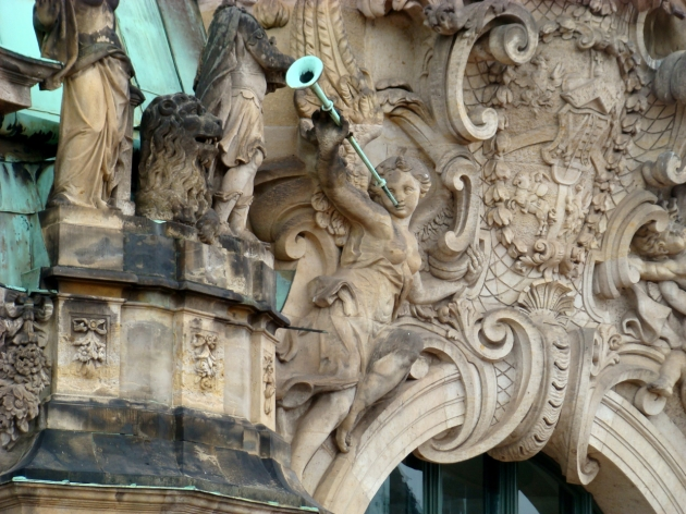 Detail - Zwinger Palace, Dresden