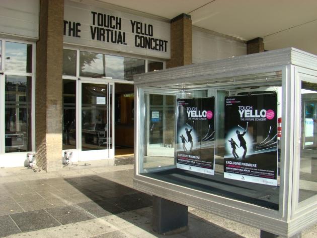 Touch Yello World Premiere Virtual Concert, Kino International Berlin