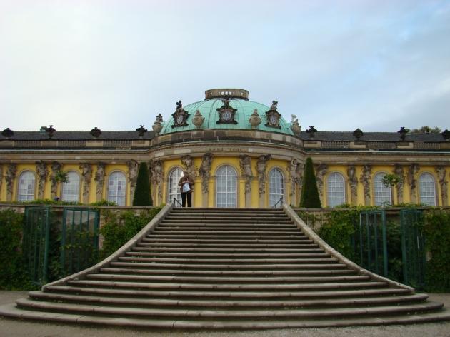 Stairs to Sanssouci Palace, Potsdam