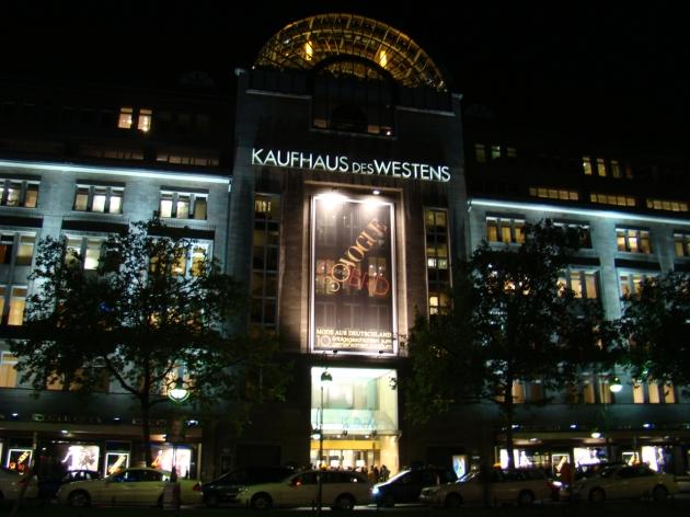 KaDeWe Main Entrance, Berlin