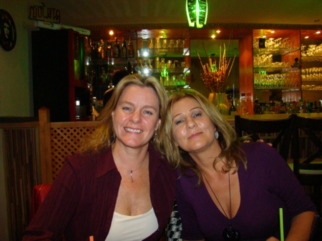 Shelley, Silke - La Mulata Cuban restaurant, Berlin