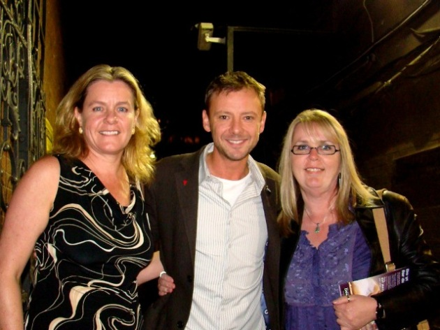 Shelley, John Simm, Chris at the Duke of York's Theatre