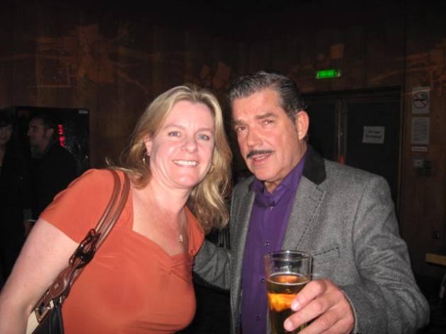 Shelley, Boris Blank - Touch Yello Premiere After Party, Kino International Berlin