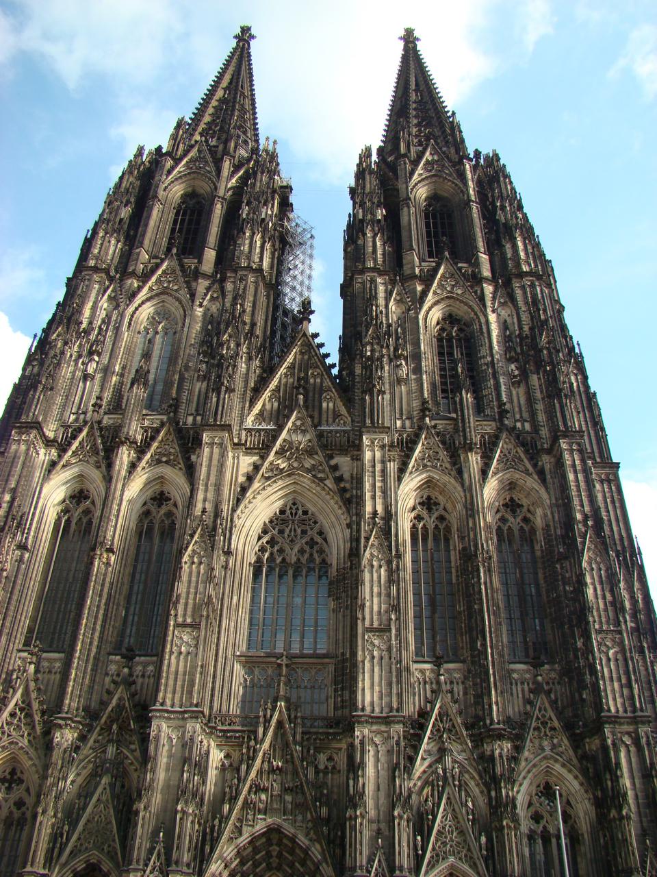 Cologne Cathedral Facade Kölner Dom Cologne Cathedral