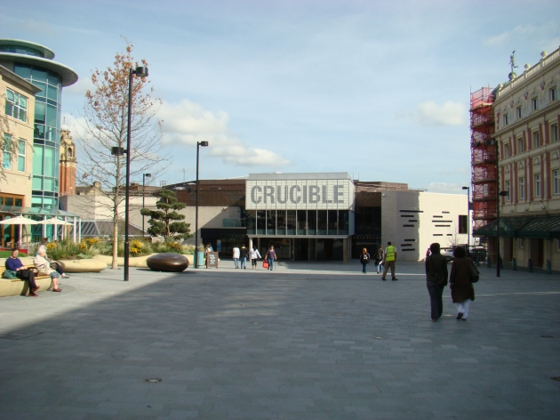 The Crucible Theatre at Tudor Square, Sheffield
