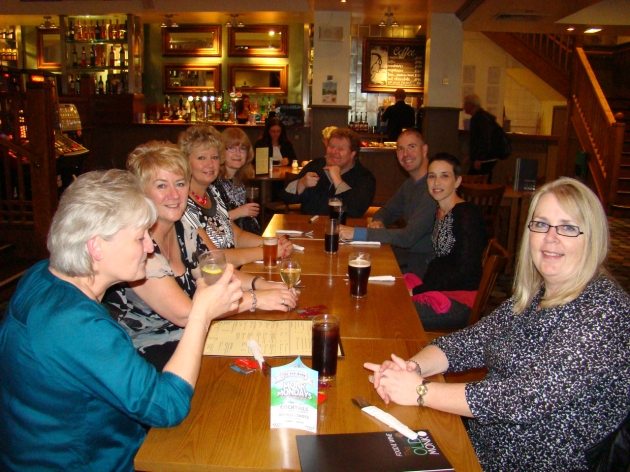 Pre Hamlet meet-up at The Old Monk, Sheffield