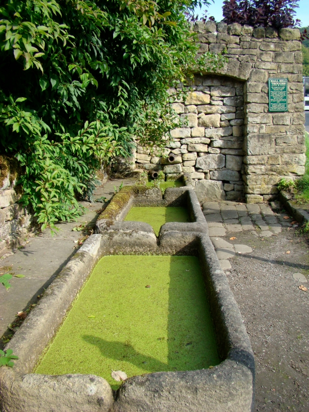 Hall Hill Troughs - est. 1558. They supplied regular domestic water for nearly 350 years