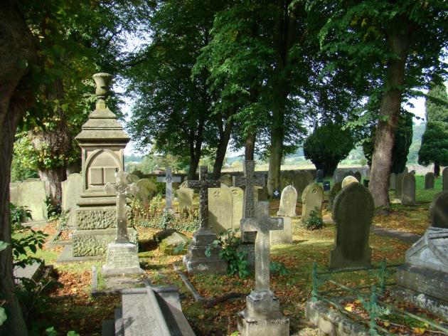 Eyam Church Cemetery