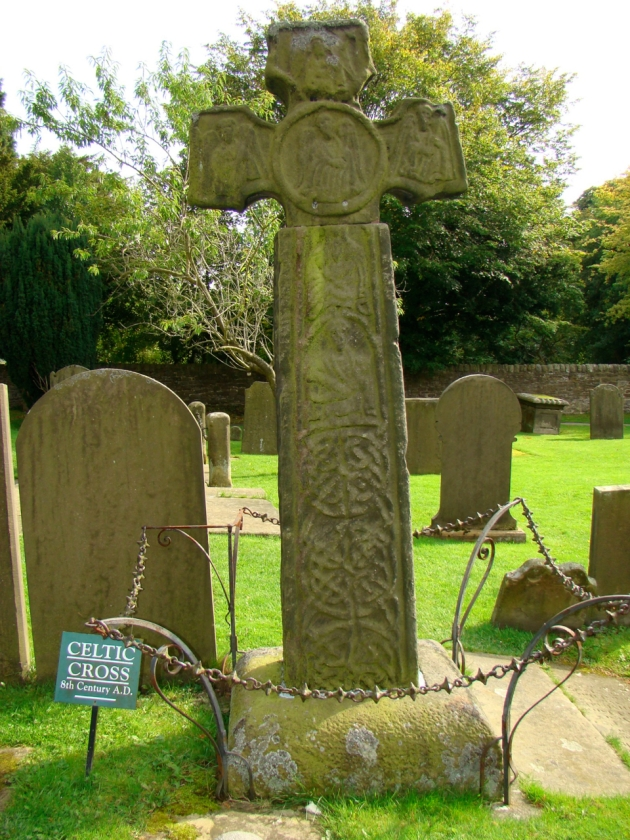 Celtic Cross - 8th Century A.D., Eyam