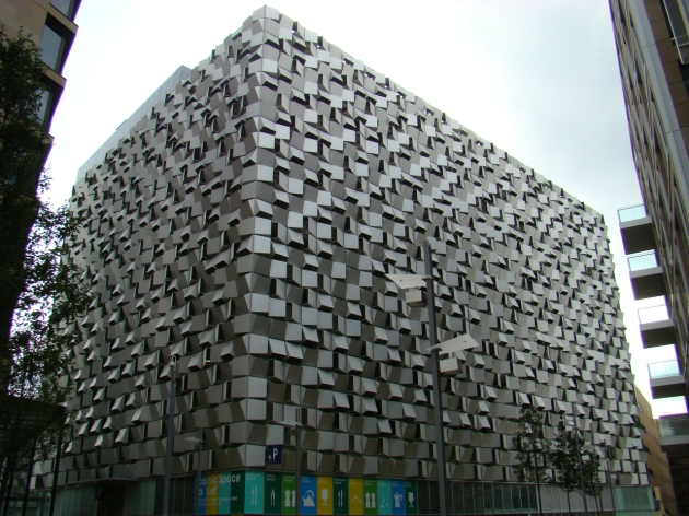 The 'Cheese Grater' car park