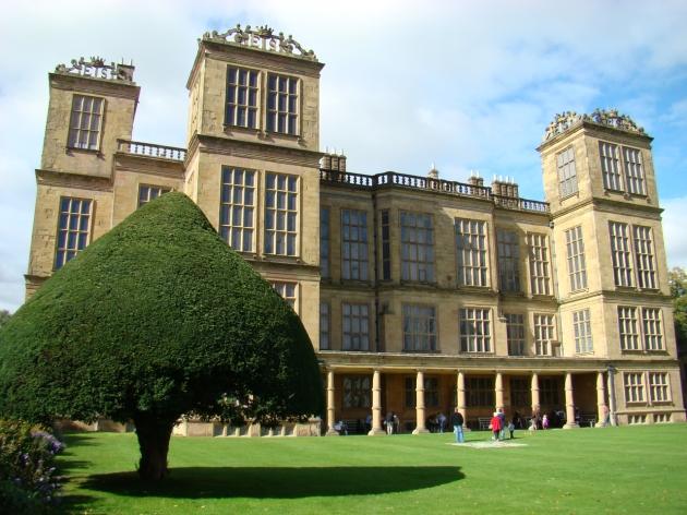 Hardwick Hall Back Garden