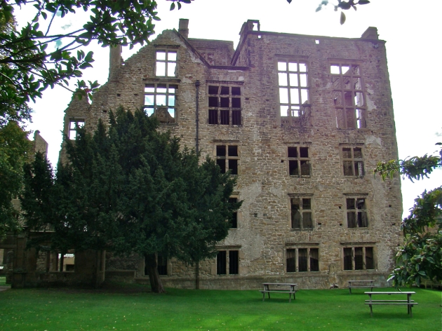 The Old Hall of Hardwick Hall - Birthplace of Bess of Hardwick