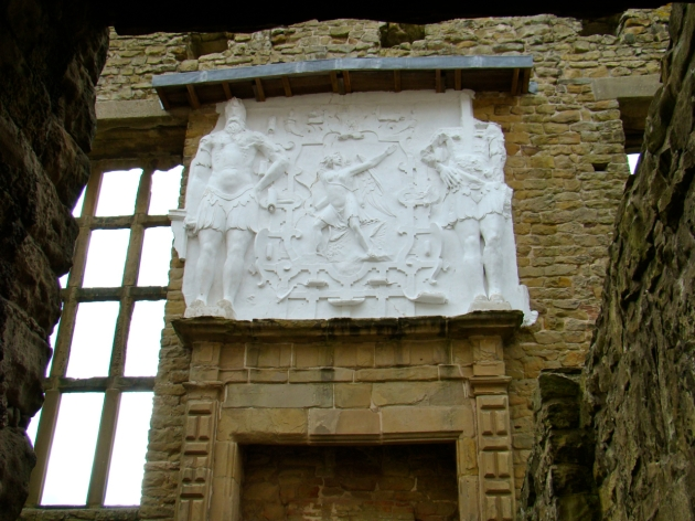 Plaster Overmantel in the Old Hall