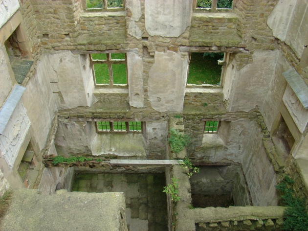 Exterior Remains of Old Hardwick Hall