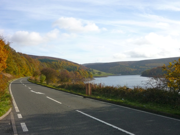 Snake Pass in the Peak District