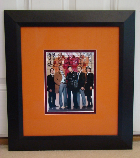 One of a kind Life On Mars photo autographed by the Cast