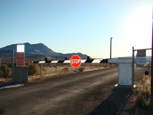 Area 51 Boundary North Gate