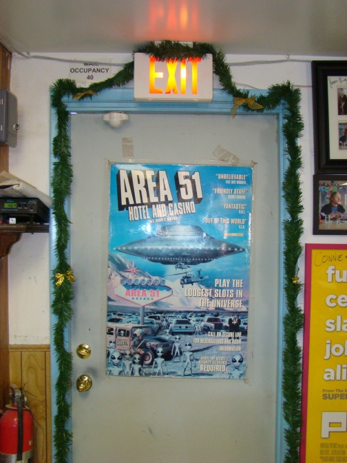 Area 51 Poster (Little A'Le'Inn)