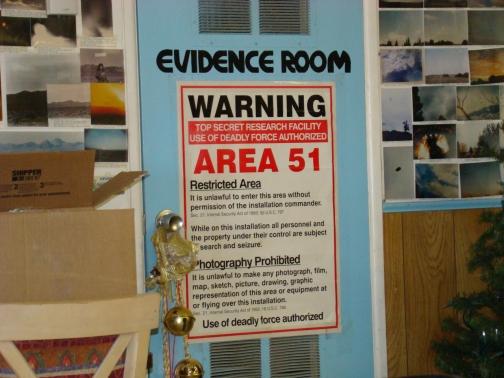 Little A'Le'Inn Evidence Room
