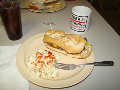 Little A'Le'Inn Famous Alien Burger